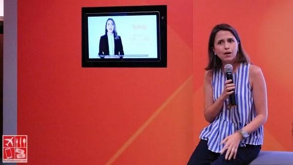 UnionBank Deputy Center Head for Consumer Finance and Chief User Experience Officer Ana Aboitiz-Delgado