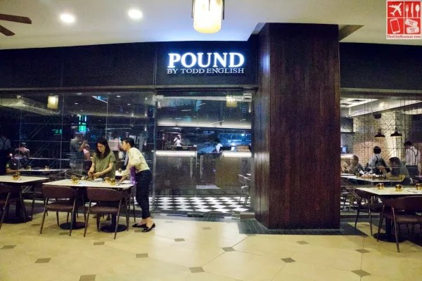 Pound by Todd English is located at the 2nd floor of Eastwood Mall Veranda