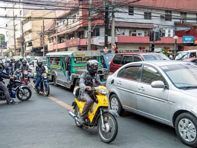 rush hour in manila