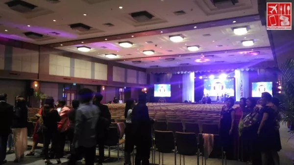 An event with a theatre type of setup at PICC