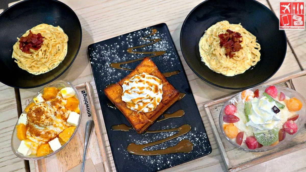 Foods at Snowbing