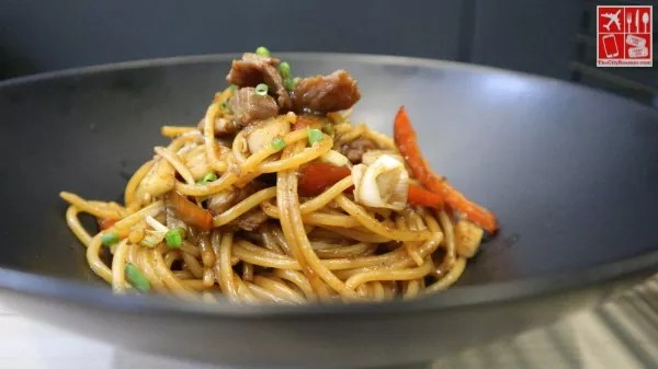 Korean Pasta at Snowbing (Php198)