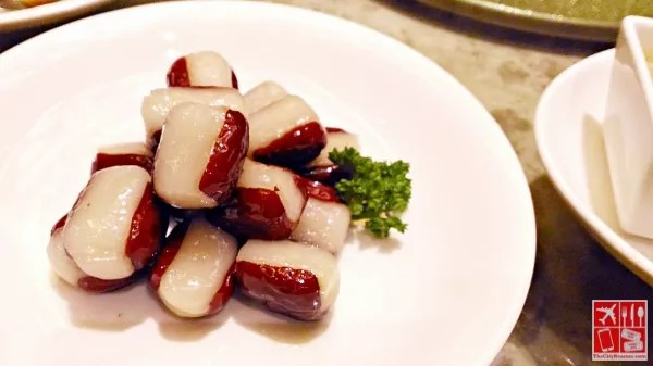 Steamed Glutinous Rice Stuffed in Red Dates (Php238)
