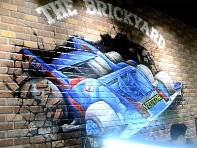 The Brickyard Wall