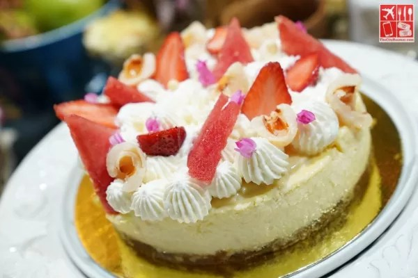 Tropical Fruit Pastillas Cheesecake - inspired by Mika Martinez