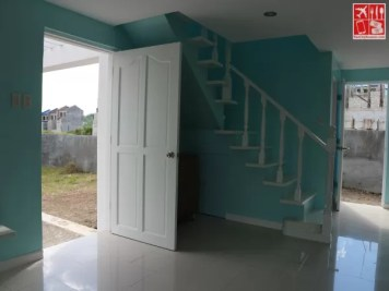 Entryway of the model house