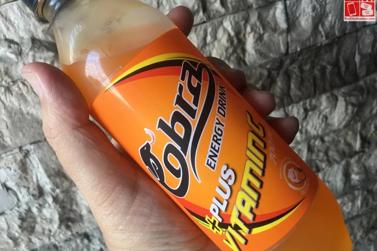 Cobra Energy Drink with Vitamin C
