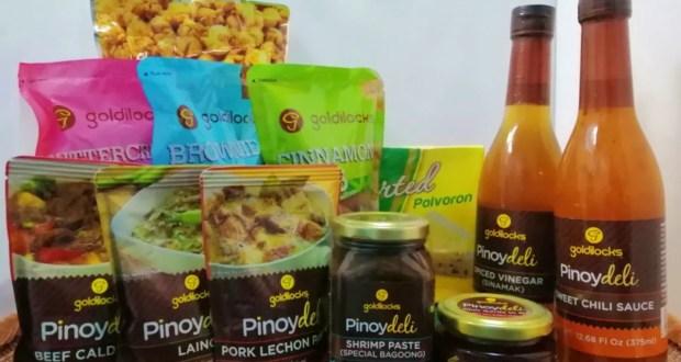 Goldilocks Balik Baon for Balikbayan