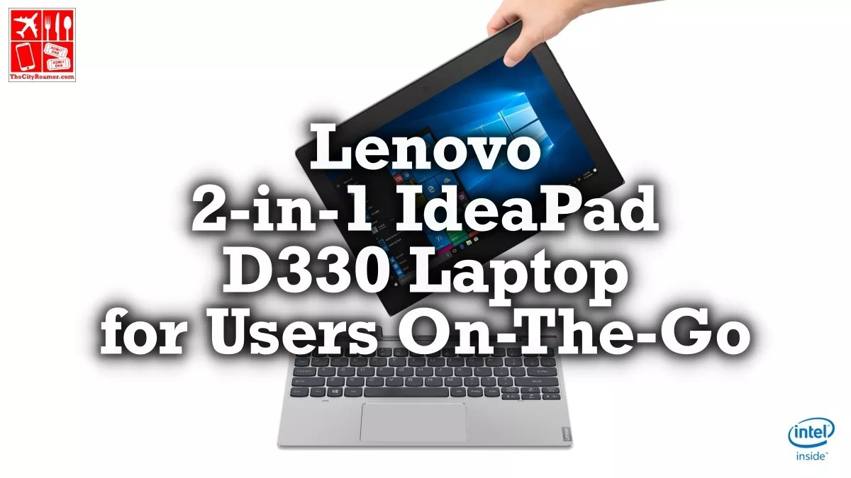 Lenovo 2-in-1 IdeaPad D330 Laptop for Users On-The-Go