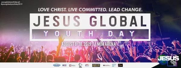 Jesus Global Youth Day at the Mall of Asia Arena on August