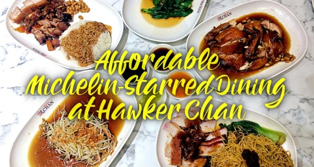 Affordable Michelin-Starred Dining at Hawker Chan