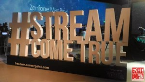 #StreameComeTrue Converge FREEDOM launch
