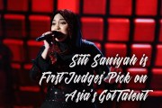 Siti Saniyah Scores First Judges' Pick on Asia's Got Talent