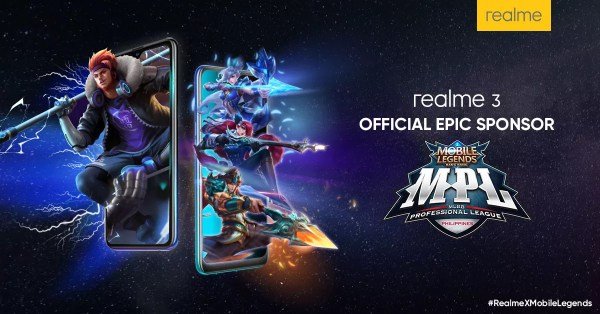 realme 3 is Official Epic Sponsor of Mobile Legends: Bang Bang Professional League Season 3