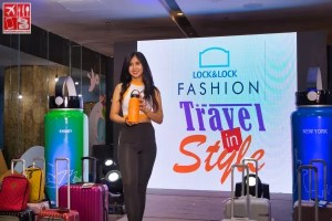 A fashion show at the Lock&Lock Fashion Travel In Style