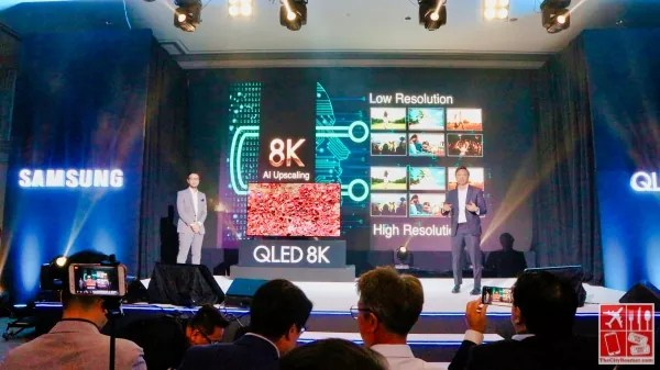 Samsung QLED TV improves viewing experience with AI Upscaling