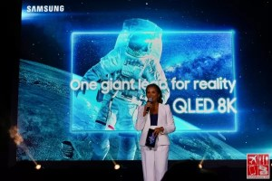 The launch of Samsung QLED 8K TV hosted by Gelli Victor