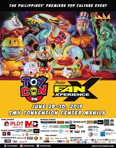 #Toycon2019 poster