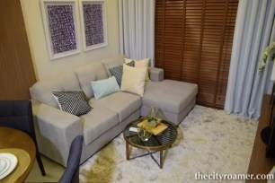 The Showroom - A staging of the living room