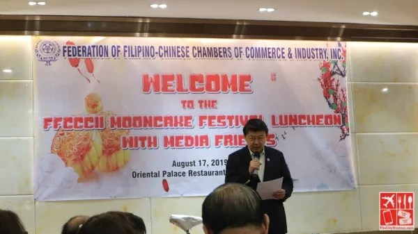 FFCCCII President Dr Henry Lim Bon Liong welcomed everyone at the event