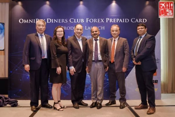 OmniPay and Diners Club Discovery executives