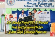 Vivant's Project RELY Handed Tools and Equipment