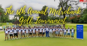 The 6th Annual Metrobank Golf Tournament in Cebu