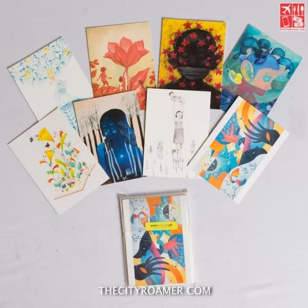 Art card set based on CANVAS' children's activity book on children's rights, illustrated by Ang Ilustrador ng Kabataan