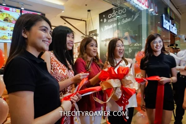 Ribbon-cutting ceremony at Adobo Connection SM North Edsa