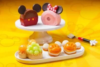 Mickey and Friends themed treats