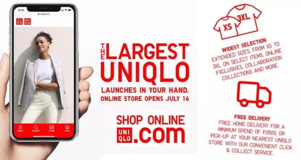 Uniqlo Online Store launch announced