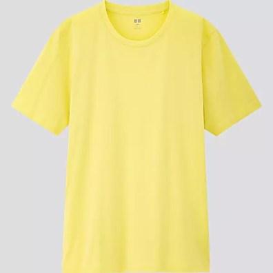 UNIQLO Men's SUPIMA Cotton Crew Neck Shorts Sleeve T-Shirt