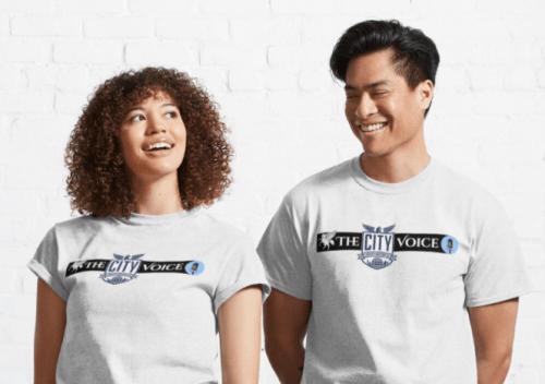Reminder: City Voice Shirts Are Uniform