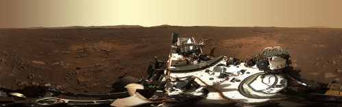 See Perseverance's First Images From Mars