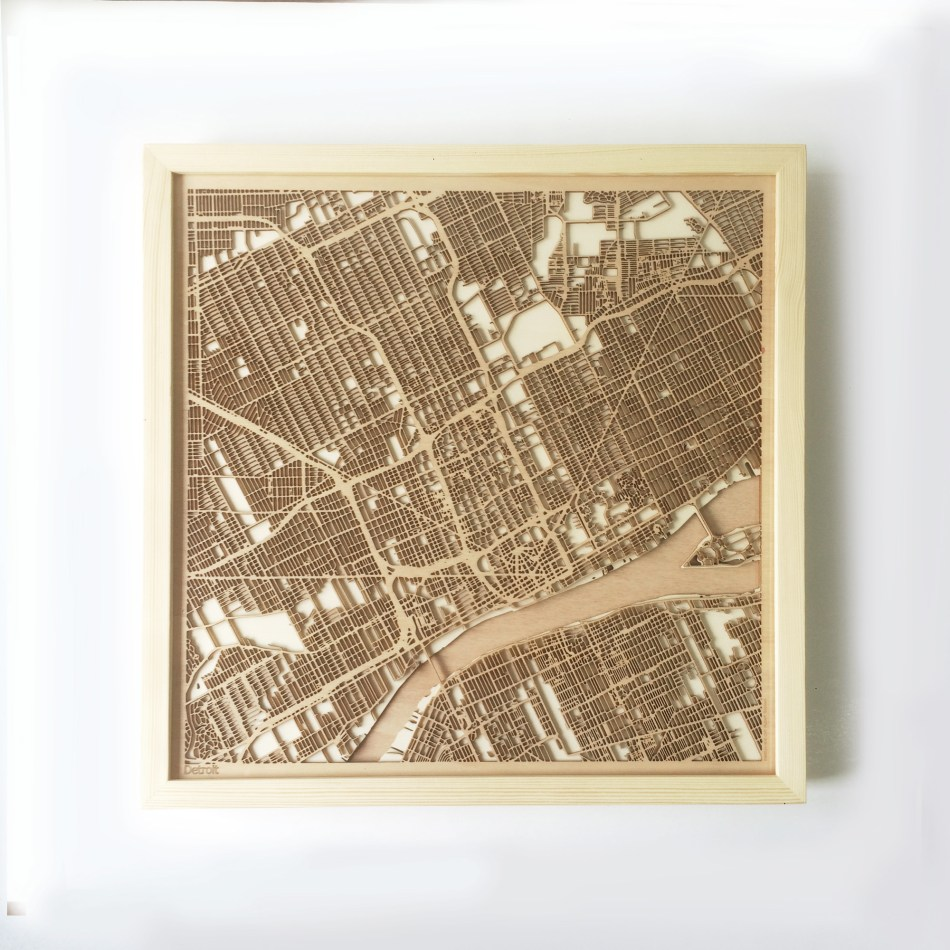 Denver CityWood Minimal Wooden map wood laser cut maps https://thecitywood.com/ CityWood is a wooden map artwork. City streets, water CityWood - Laser Cut Wooden Maps - Award Wining Design by architect and designer Hubert Roguski