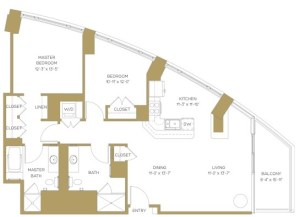 senior apartment floor plan