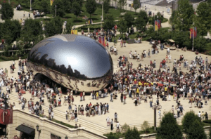 chicago bean history the inside story behind cloud gate