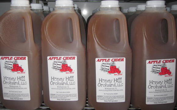 Honey Hill features apple picking and apple cider