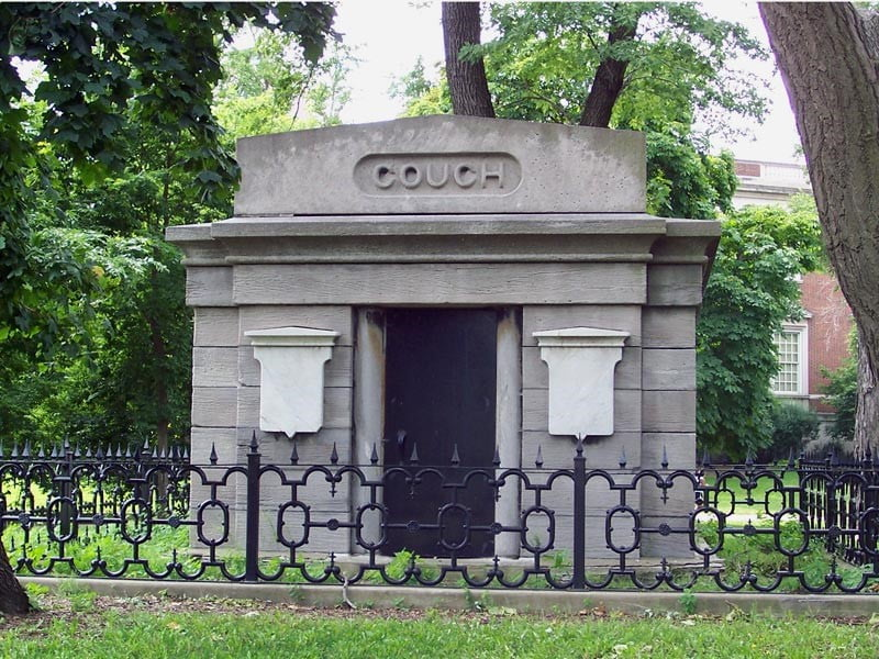 the Couch Mausoleum