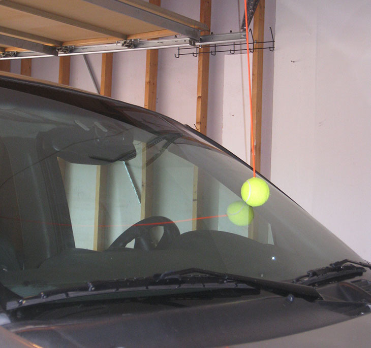 Local Dad Decides It S About Time To Hang Tennis Ball Up In Garage
