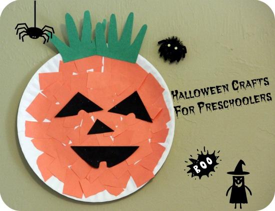 Halloween Paper Plate Craft Ideas