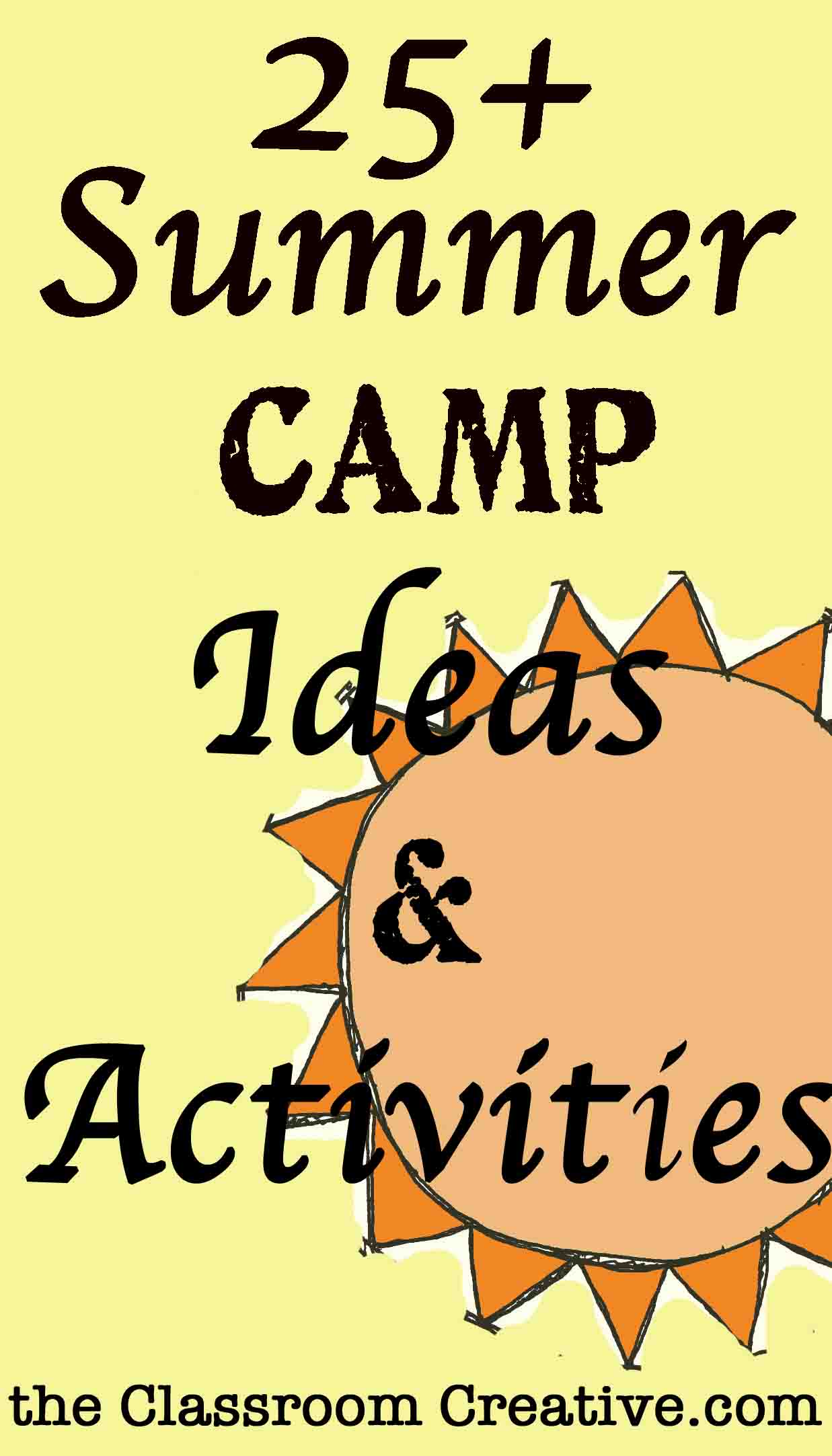 Summer Camp Theme Ideas