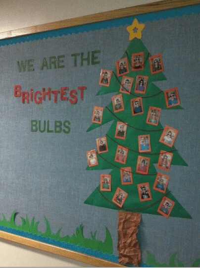 Christmas Tree Bulletin Board Ideas