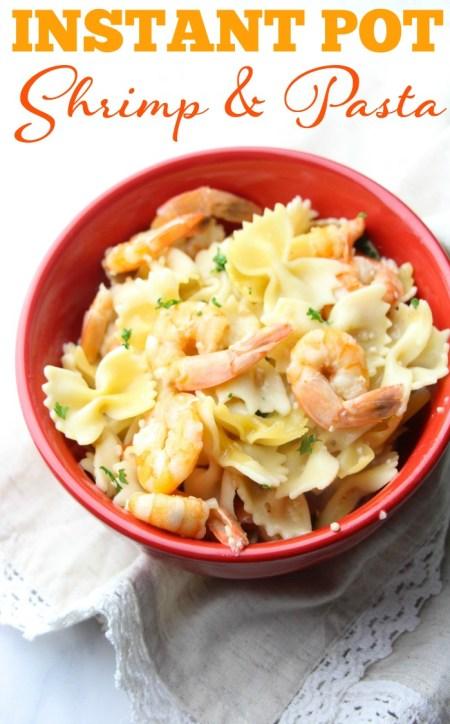 Instant pot shrimp