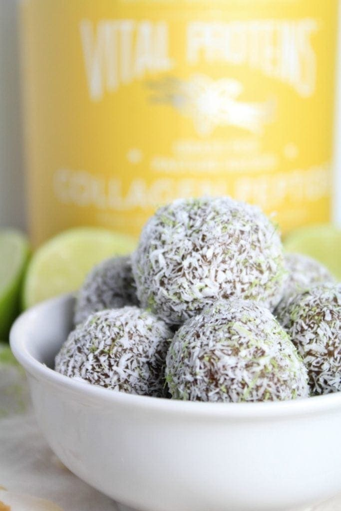Whole 30 Key Lime Pie Bites Recipe