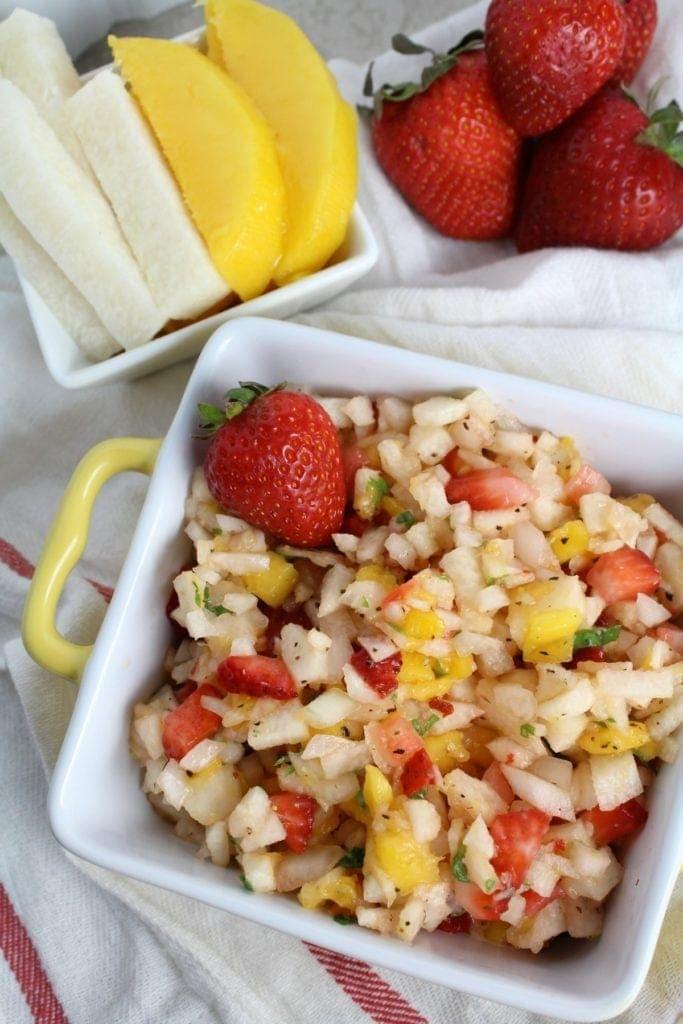 Strawberry Mango Jicama Salsa Recipe