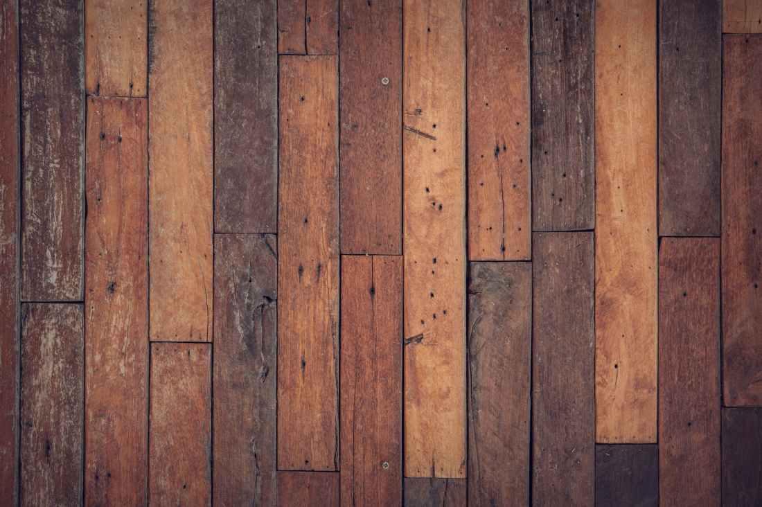 brown wooden floor