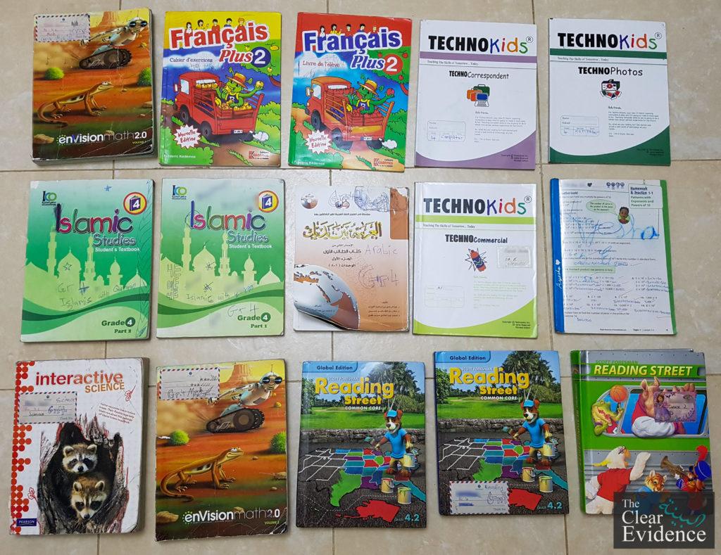 Donation of 4th Grade Books in Riyadh