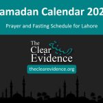 Featured Image - Ramadan Calendar 2020 for Lahore - The Clear Evidence - theclearevidence.org
