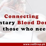 Featured Image - Connecting Voluntary Blood Donors with Recipients - RedDrop.pk